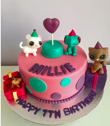 Littlest Pet Shop Themed Cake 02