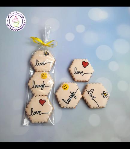 Cookies - Live, Laugh, & Love - Minis