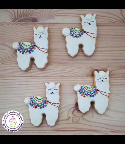Llama Themed Cookies 04