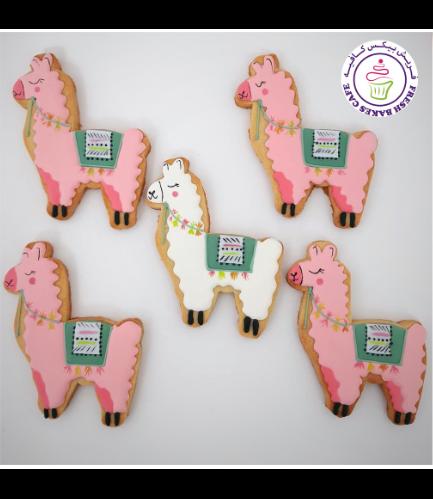 Llama Themed Cookies 05