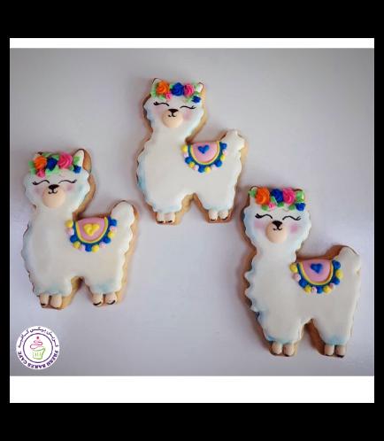 Llama Themed Cookies 02