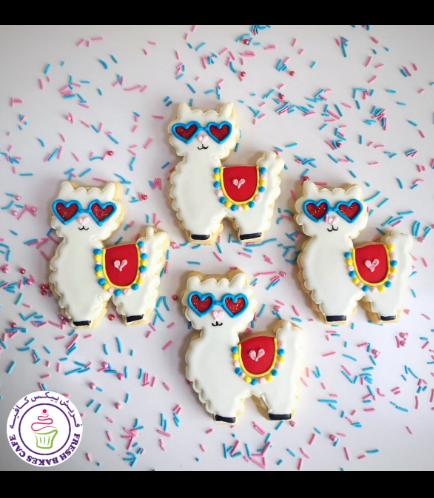 Llama Themed Cookies 03