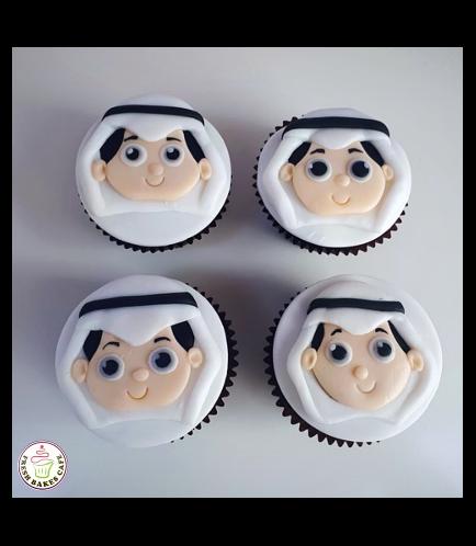 Boy Themed Cupcakes