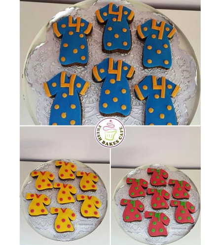 Dresses Themed Cookies 01a
