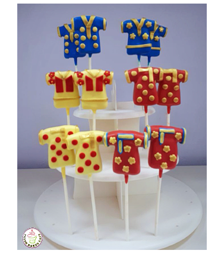 Dresses Themed Cake Pops 02
