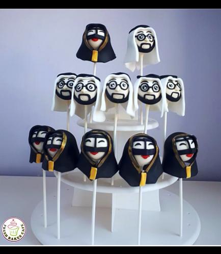 Men & Women Themed Cake Pops 03