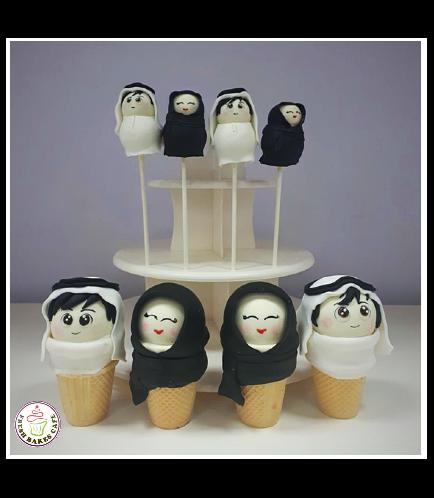 Children Themed Cake Pops & Cone Cake Pops