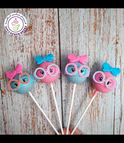 Lollipop Themed Cake Pops