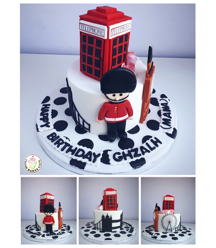 London Themed Cake 02