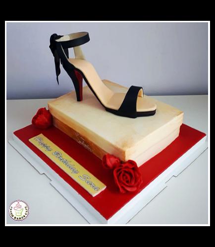 Shoes Themed Cake-Louboutin 01b