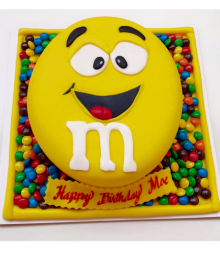M&M Themed Cake 01