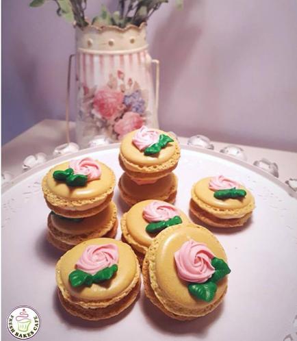 Macarons - Roses 01