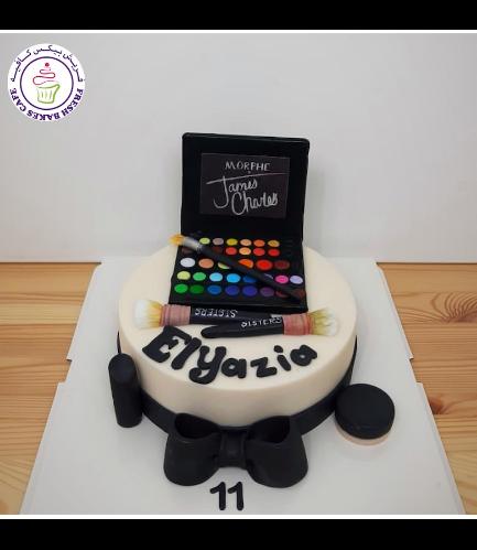 Makeup Themed Cake - James Charles