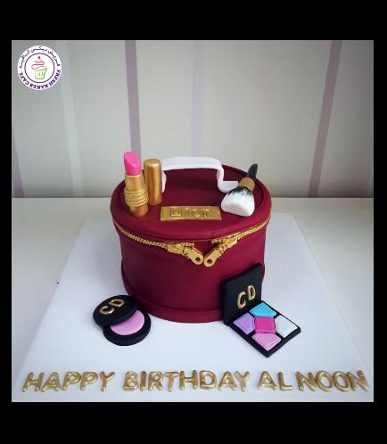 Makeup Themed Cake 10