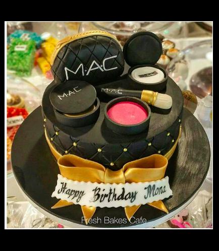 Makeup Themed Cake 01