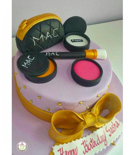 Makeup Themed Cake 03