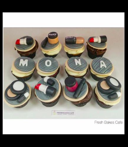 Makeup Themed Cupcakes 02