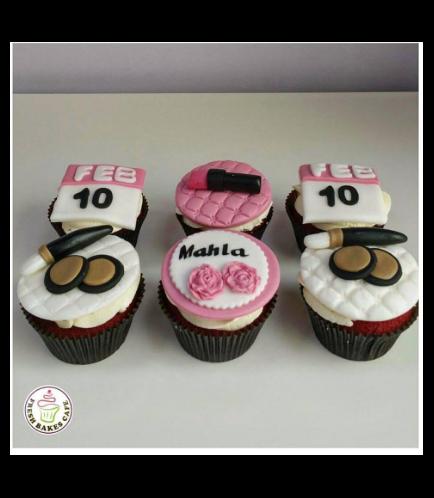 Makeup Themed Cupcakes 03