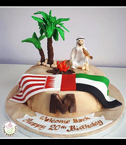 Desert Themed Cake
