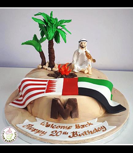 Desert Themed Cake 03