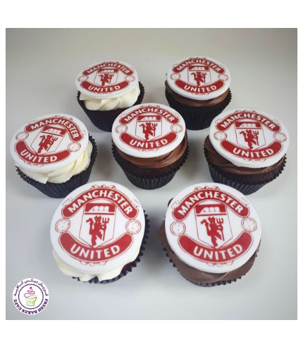 Football Themed Cupcakes - Manchester United