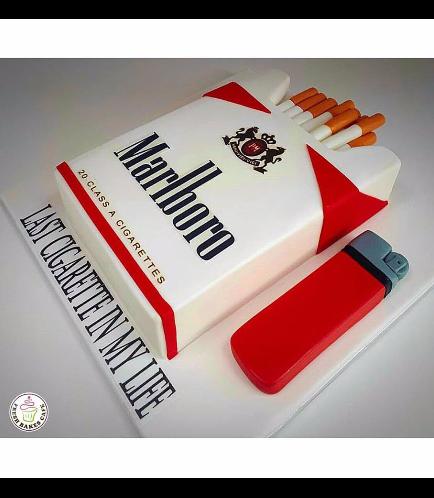 Cigarettes Themed Cake - 3D Cake