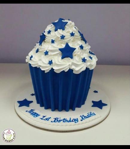Cake - Stars - Mega Cupcake