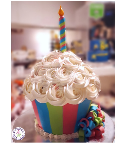 Mega Cupcake - Striped