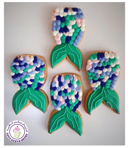 Cookies - Mermaid Tail 04
