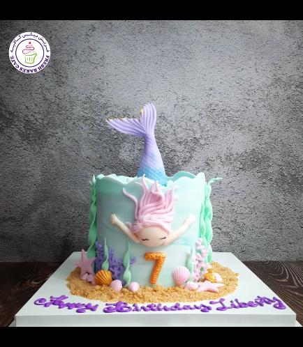 Cake - Mermaid - 2D Character 03