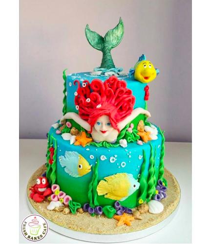 Mermaid Themed Cake 11