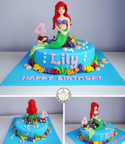 Mermaid Themed Cake 10