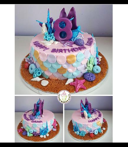 Mermaid Themed Cake 18