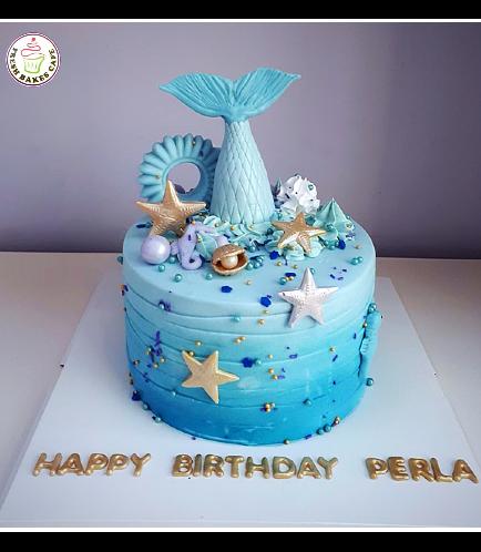 Mermaid Themed Cake 19