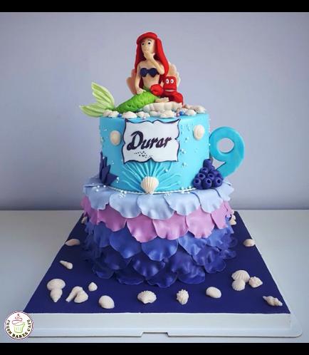Mermaid Themed Cake 20a