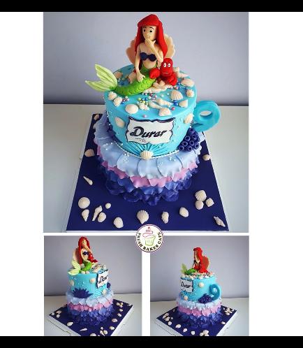 Mermaid Themed Cake 20b