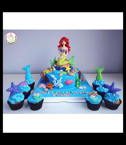 Mermaid Themed Cake 21b