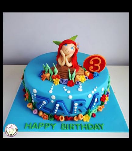Mermaid Themed Cake 23