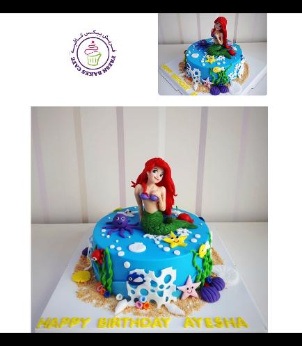 Mermaid Themed Cake 24a