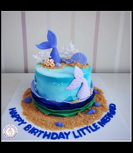 Mermaid Themed Cake 25