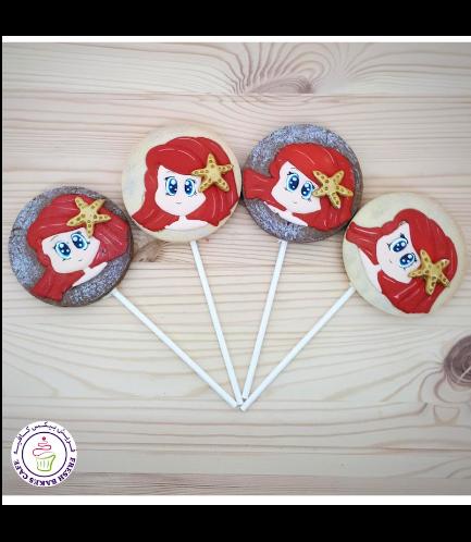 Cookies - Mermaid - on Sticks