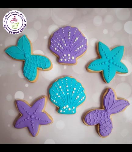 Cookies - Mermaid Tail & Sea Shells 01b