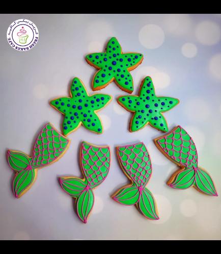 Cookies - Mermaid Tail & Sea Shells 02
