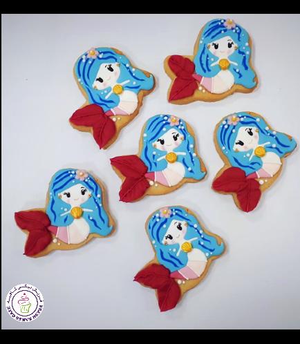 Mermaid Themed Cookies 04
