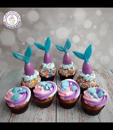Cupcakes - Mermaid Tail 01