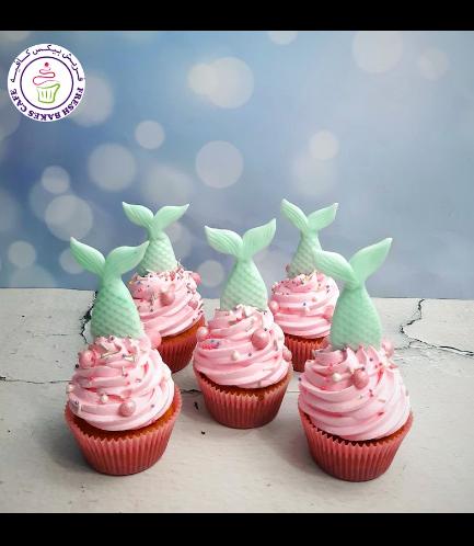 Cupcakes - Mermaid Tail 03