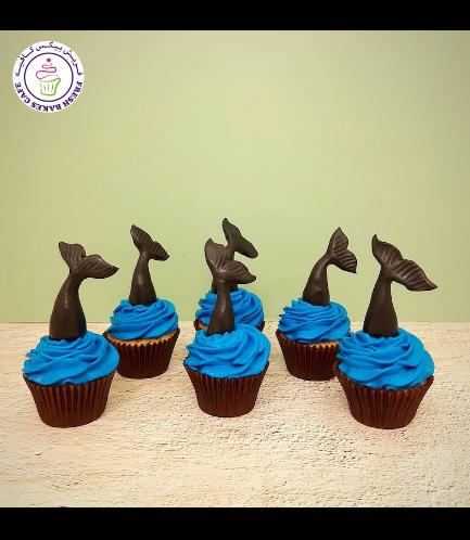 Cupcakes - Mermaid Tail 04