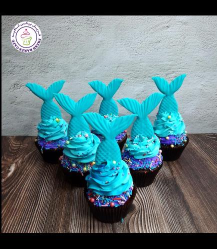 Cupcakes - Mermaid Tail 05