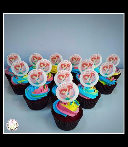 Mermaid Themed Cupcakes 02