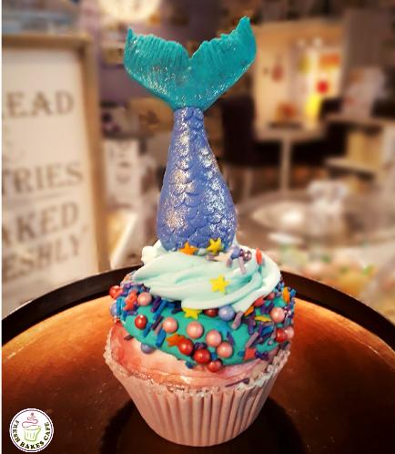 Mermaid Themed Cupcakes 03